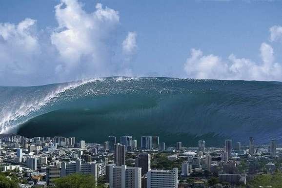 Стометрова хвиля пішла вглиб океану і поблизу найближчого безлюдного острова, що знаходиться в декількох кілометрах від вулкана, знизилася до 80 метрів - Науковці зафіксували на Землі стометрове цунамі