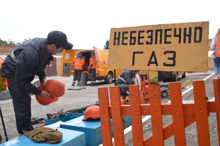 З початку року аварійна служба «Запоріжгазу» отримала близько 42 тис.