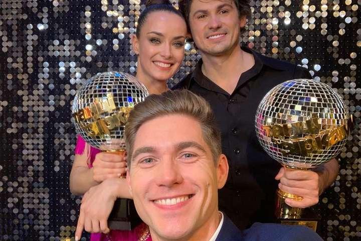 Победительница «Танцев со звездами» отреагировала на слухи о романе с Владимиром Остапчуком
