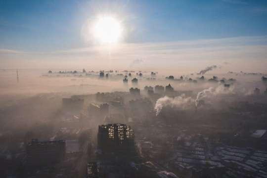 <p>Метеорологічні умови в Києві не сприяють розсіюванню шкідливих домішок у повітрі</p>