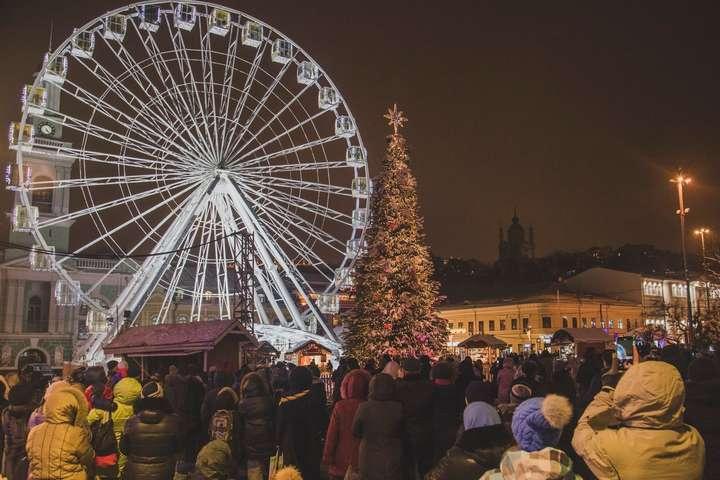 Стало відомо, яким буде святкування Нового року на Подолі (програма)