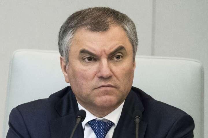 В'ячеслав Володін наголошує, що не можна пробачати націоналістам їхню поведінку - Спікер Держдуми заявив, що Угорщина просить Росію разом захистити права нацменшин в Україні