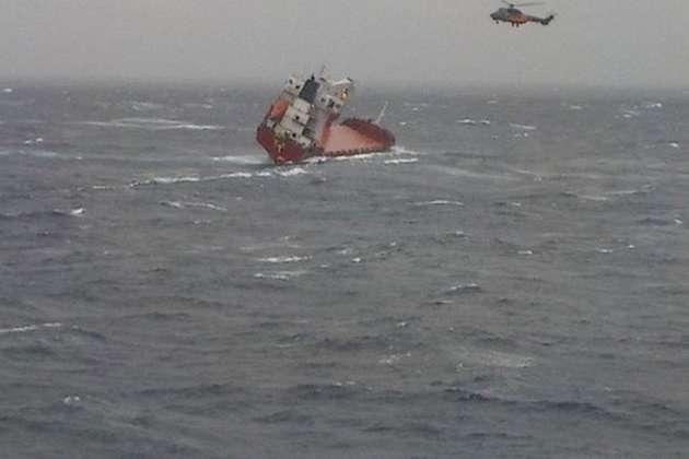 Корабель втратив керування та отримав крен - В Егейському морі зазнало аварії судно з 14 українцями