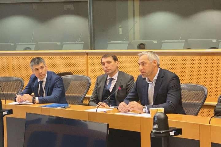 <p>3-4 грудня генеральний прокурор Руслан Рябошапка здійснив візит до Брюсселю, де відвідав інституції Європейського Союзу</p> <p> — Рябошапка у Брюсселі назвав головний пріоритет роботи Генпрокуратури»></p></div> <div class=