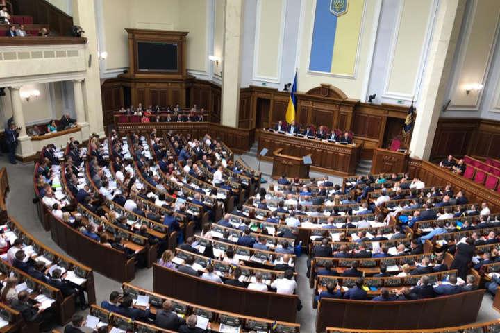Ранкове засідання Ради розпочалося зі складання присяги нового нардепа зі «Слуги народу»