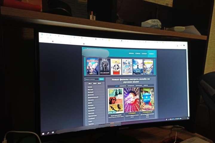 Кіберполіція викрила нелегальні онлайн-кінотеатри