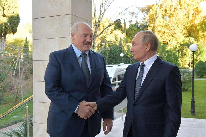 Зустрічі Лукашенка і Путіна у Сочі - Під час зустрічі Лукашенка та Путіна у Сочі погасло світло