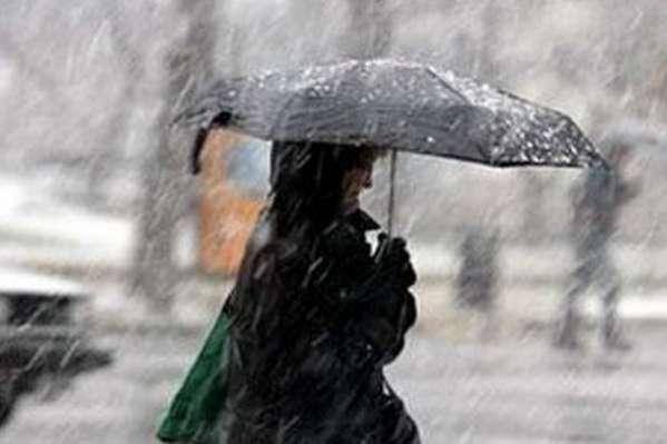 Дощ з мокрим снігом і ожеледиця: прогноз погоди на 8 грудня