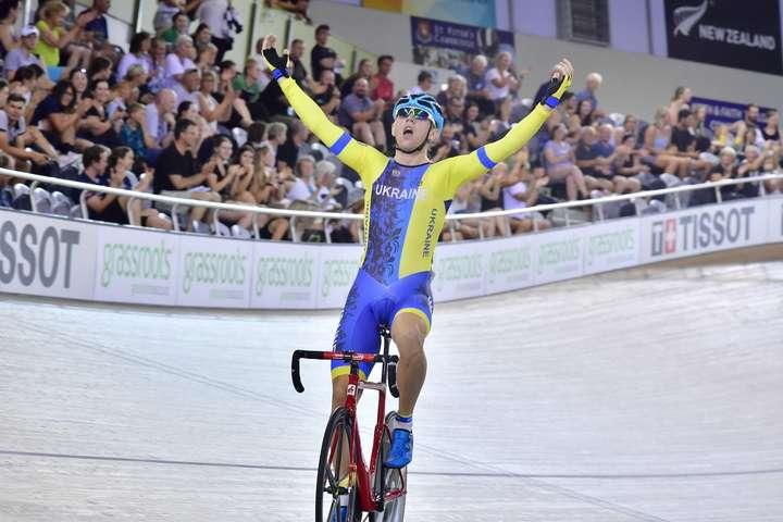 Роман Гладиш здобув свою прем'єрну перемогу в рамках Кубка світу - Український велосипедист Гладиш здобув золото Кубка світу
