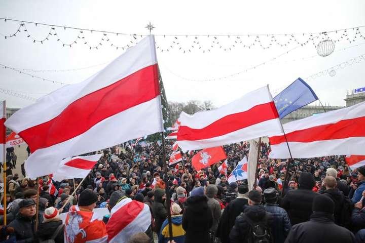 У Мінську другий день триває протест проти інтеграції Білорусі та Росії