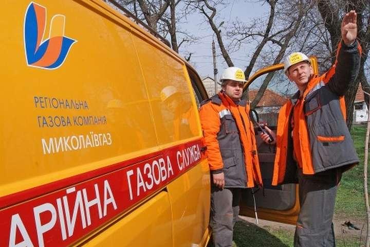 З початку 2019 року аварійно-диспетчерська служба «Миколаївгазу» опрацювала понад 8 тис. заявок
