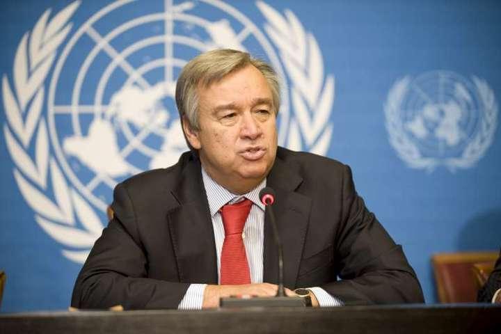 Генеральний секретар Організації Об'єднаних Націй Антоніу Гутерріш - Генсек ООН оцінив результати зустрічі Нормандської четвірки