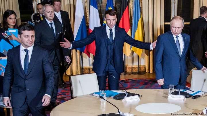 Про що (не) домовилися на саміті «нормандської четвірки» в Парижі