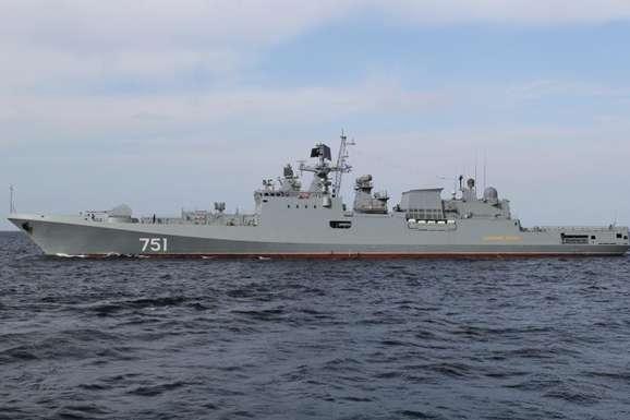 У мережі з'явилося відео враження цілі російською ракетою «Калібр»