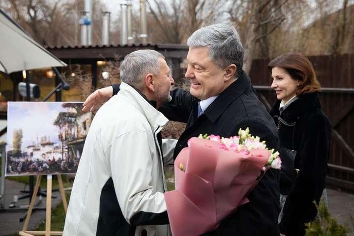 Порошенко привітав з Днем народження Ахтема Чийгоза