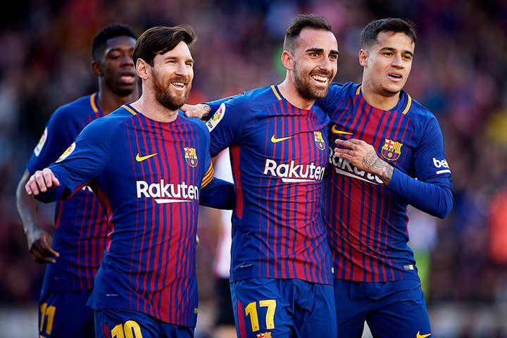 У «Барселони» найвища середня зарплата в клубному спорті - У футболістів «Барселони» найвищі зарплати в світовому спорті