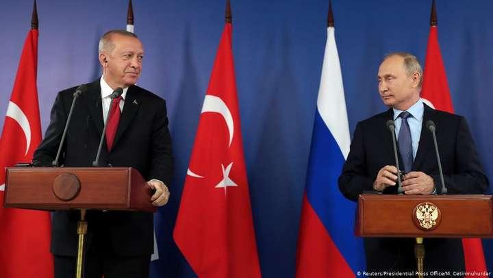 Президенти Туреччини і Росії Реджеп Таїп Ердоган і Володимир Путін (фото з архіву) — Лівія — нова пастка для Путіна