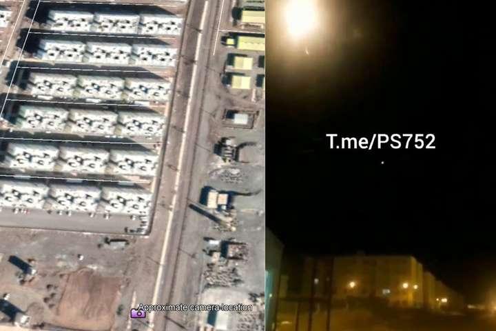 Розслідувачі групиBellingcatідентифікували наземні об'єкти на відео - «Таємниця розгадана»: Bellingcat підтверджує достовірність відео збиття ракетами літака МАУ