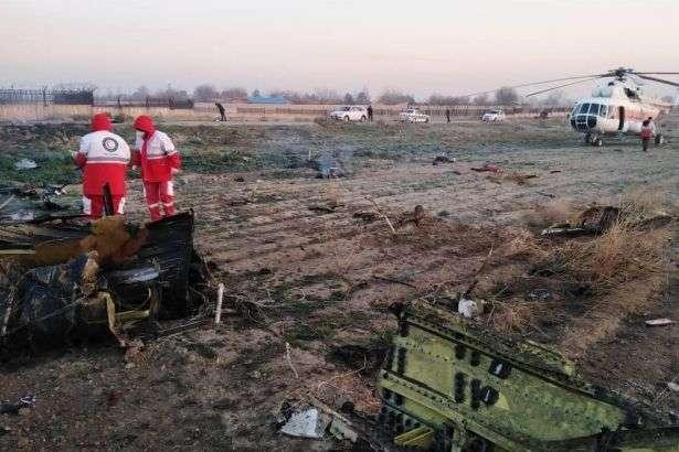 Місце катастрофи українського літака - Авіакатастрофа МАУ: в Ірані залишаються 10 українських фахівців