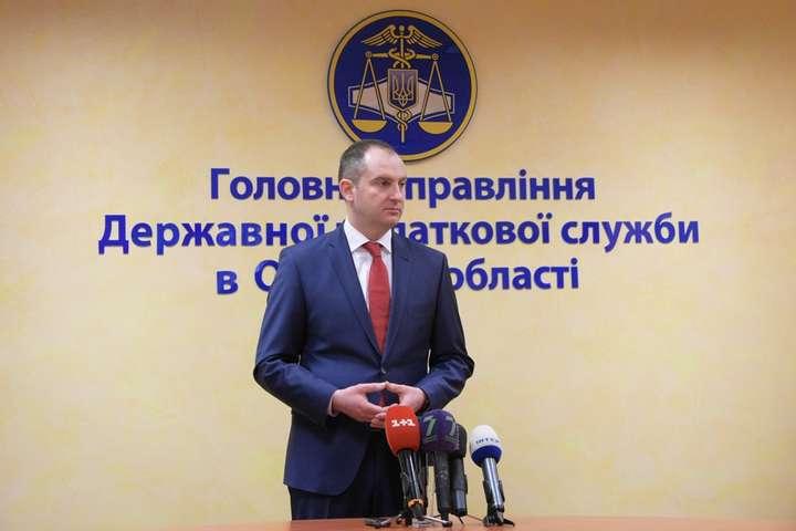 Голова Державної податкової служби Сергій Верланов - Верланов на Одещині дав старт масштабній антикорупційній перевірці податкової