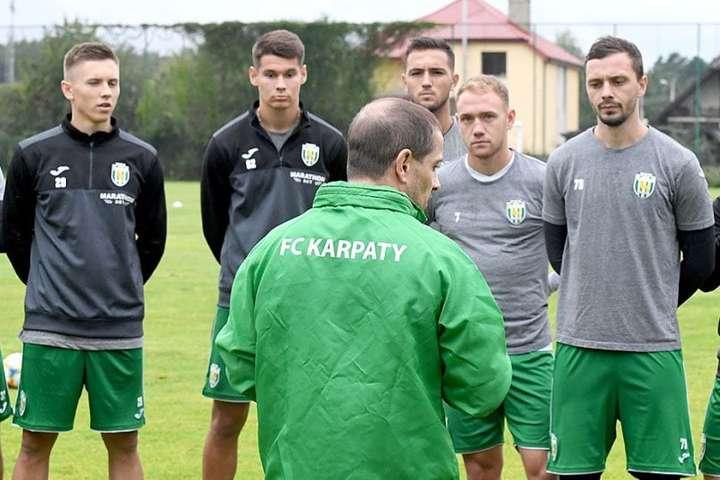 Футболісти«Карпат» не тренувалися командою напередодні - Футболісти «Карпат» відмовилися тренуватися