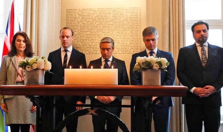 <span>Канада 16 січня влаштувала у своєму посольстві у Лондоні зустріч міністрів закордонних справ 5 країн</span> - Міністри п'яти країн зробили спільну заяву щодо збиття літака МАУ в Ірані