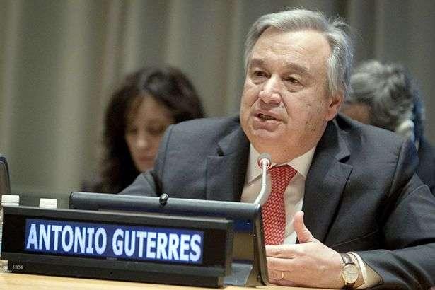 Антоніу Гутерріш - Генсек ООН анонсував засідання військового комітету щодо ситуації у Лівії