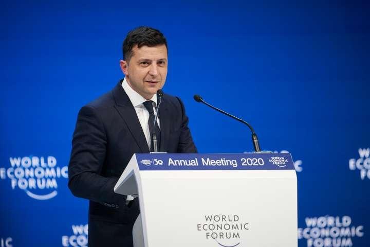 Для Володимира Зеленського форум у Давосі став першим економічним самітом такого масштабу — «Я президент 248 днів». Перший Давос Зеленського