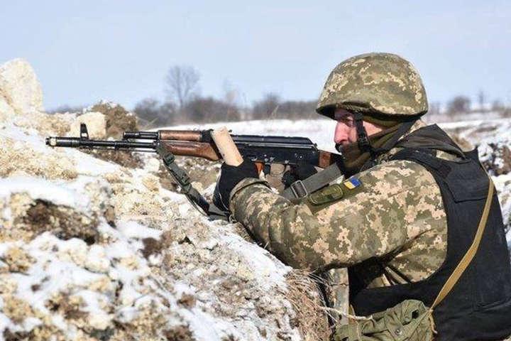 25 січня внаслідок ворожих обстрілів один військовослужбовець Об'єднаних сил отримав поранення - За добу на Донбасі зафіксовано 10 ворожих обстрілів, одного бійця поранено