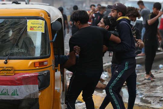В Іраку у сутичках із поліцією загинули четверо протестувальників – десятки поранених