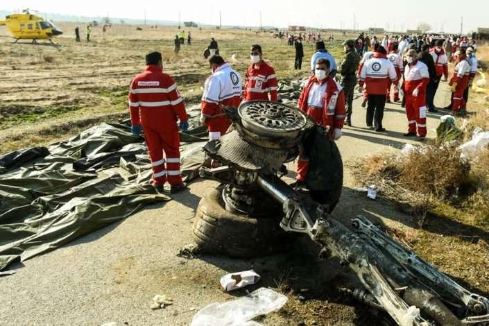 Іран відмовився ділитися з Україною доказами щодо розслідування катастрофи літака МАУ через злив інформації в ЗМІ