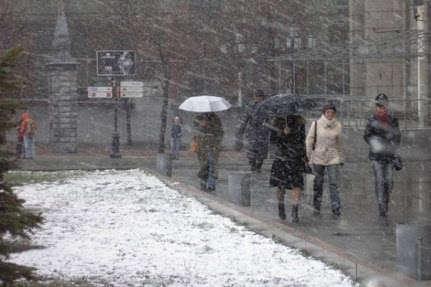 В Україні буде холодно та вітряно: прогноз погоди на 13 лютого