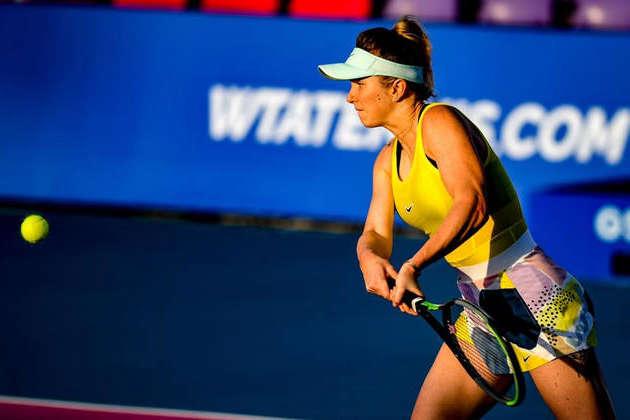 Еліна Світоліна розгромила другу суперницю поспіль - Еліна Світоліна віддала суперниці три гейми і вийшла в 1/4 фіналу турніру в Таїланді