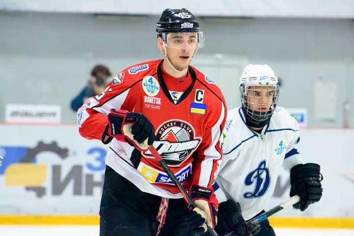 Віктор Захаров став рекордсменом «Донбасу» - 100 шайб - встановлено рекоррд хокейного «Донбасу» (відео)