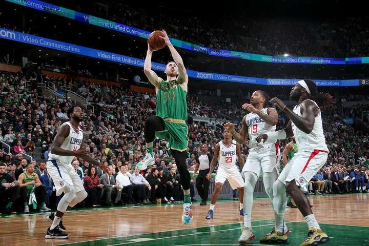 Гордон Гейворд - герой овертайму - НБА: «Селтікс» дотисли гостей з сонячної Каліфорнії
