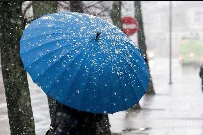 Мокрий сніг та дощ: прогноз погоди в Україні на 15 лютого