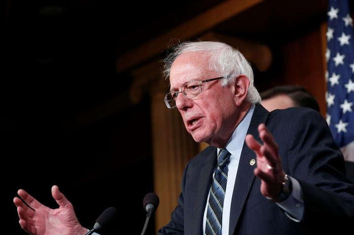 Дональд Трамп уп'ятницю заявив уTwitter, щоДемократична партія недасть Сандерсу офіційну номінацію - Сандерс випередив інших кандидатів у президенти США від демократів (опитування)