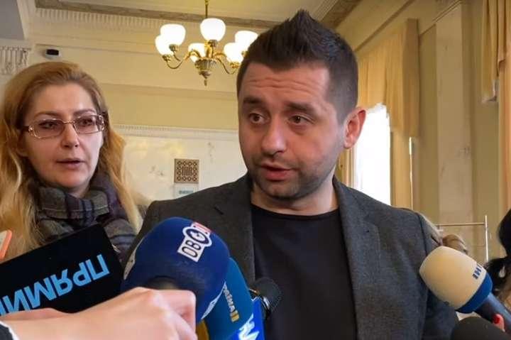 Арахамія про бої на Донбасі: немає достовірної інформації, хто саме і з якого боку наступав