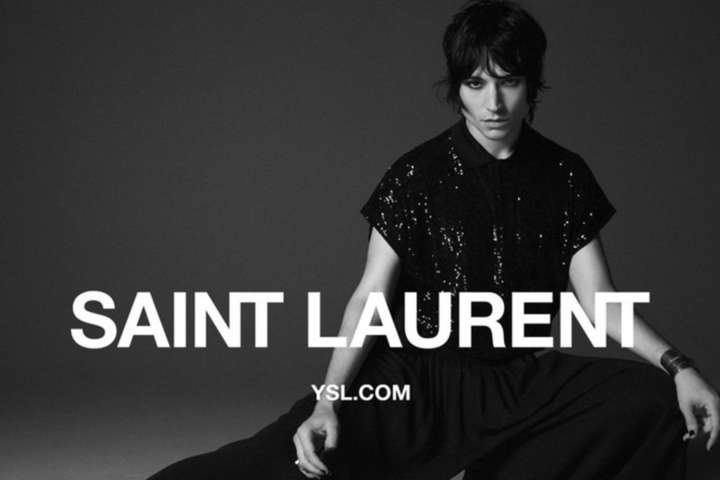 Эзра Миллер стал новым лицом Saint Laurent