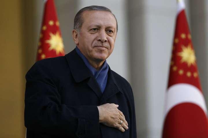 Президент Туреччини Реджеп Таїп Ердоган - Президент Туреччини закликав Путіна стримати режим Асада