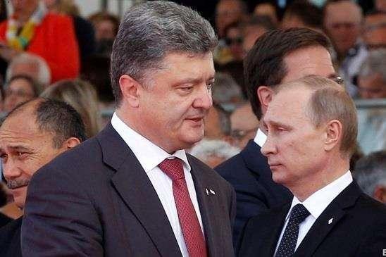 Петро Порошенко і Володимир Путін - Російський історик стверджує, що Порошенко зміг зупинити Путіна