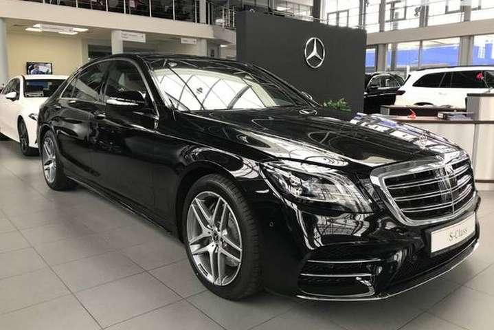 Модель Mercedes-Benz S 350 d 4Matic long (2019 року випуску), яку придбав Андрій Єрмак - Глава Офісу президента Єрмак купив Mercedes за 3 млн грн
