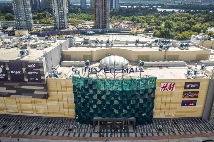 У River Mall стверджують, що торговий центр не горів, а просто димів