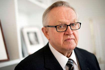 <p>Лауреат Нобелівської премії миру&nbsp;Марті Ахтісаарі&nbsp;</p> <p>Фото: Johannes Jansson / Wikimedia</p> <p> — Лауреат Нобелівської премії миру заразився коронавірусом»></p></div> <div class=