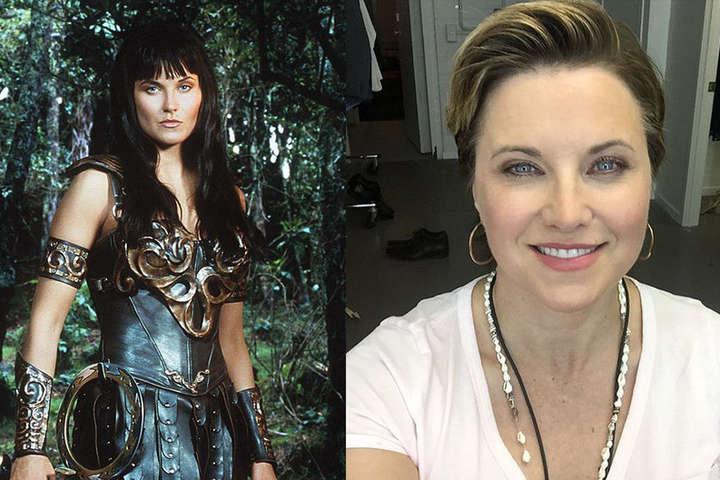 Американская актриса Люси Лоулесс - Как выглядят звезды сериала «Зена - королева воинов» 24 года спустя (фото)