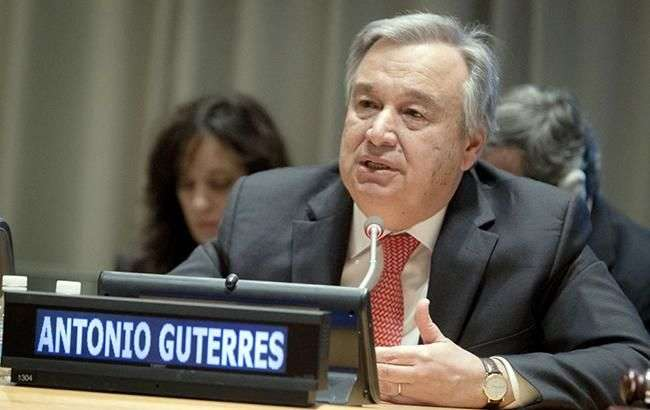 Генеральний секретар ООН Антоніу Гутерріш - Генсек ООН закликав лідерів G20 скасувати мита та санкції через коронавірус