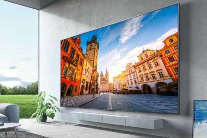 <p>Redmi Max 98</p> <p> — Китайці презентували телевізор з діагоналлю майже 100 дюймів»></p></div> <div class=