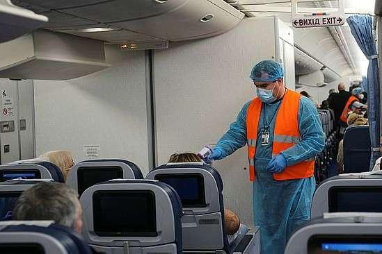 У «Борисполі» ще в одного пасажира виявлено коронавірус