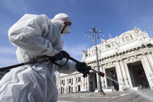 <span>Від коронавірусу в Італії вже померли 6&thinsp;820 людей</span> — В Італії пік COVID-19 спаде цього тижня – Всесвітня організація охорони здоров'я «></div> <p><span>Від коронавірусу в Італії вже померли 6820 людей</span></p> </p></div> <p>Італія може цього тижня досягти свого піку захворювання коронавірусу (COVID-19).</p> <p>Про це повідомляє<a href=
