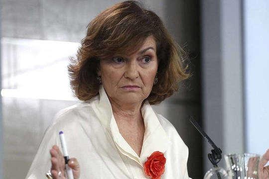 У Кармен Кальво підтвердили зараження коронавірусом - У віце-прем'єра Іспанії виявили коронавірус